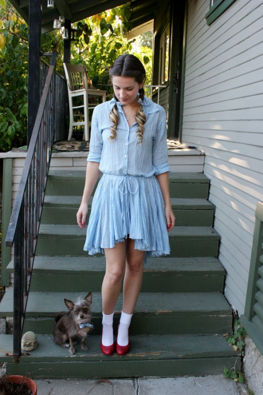 10 easy halloween costumes for women dead curious 2 dorothy gale from the wizard of oz dorothy costume solutioingenieria Gallery